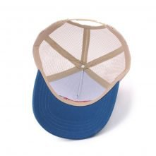 5 panel embroidery sports mesh trucker cap