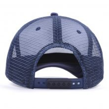 5 panels parinted mesh trucker caps
