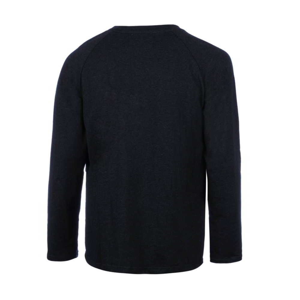 men black embroidery R-neck-tees long shirts