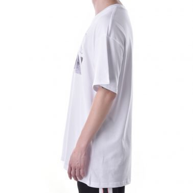 custom hot selling white printing logo cotton tshirt