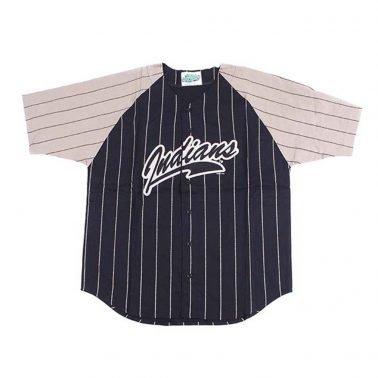 custom V-Neck Splicing T-Shirts baseball jerseys with botton