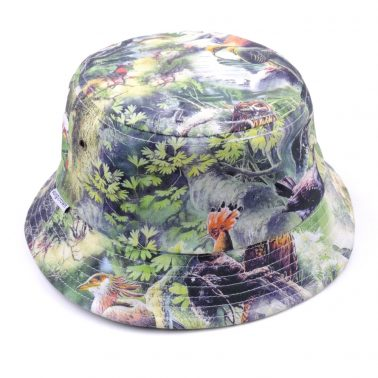 printed wholesale bucket hats china supplier