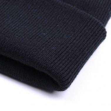 black blank skull winter cap beanies no logo