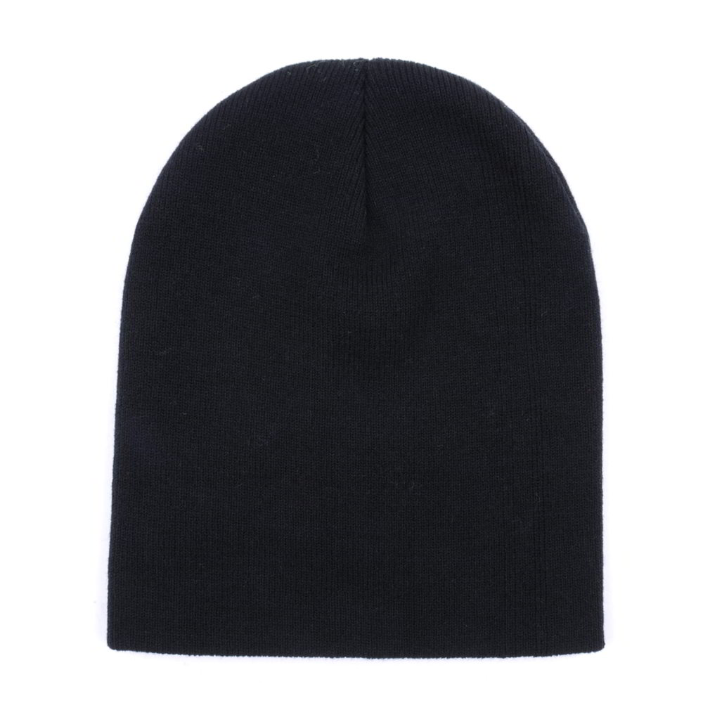 black blank skull winter cap beanies no logo