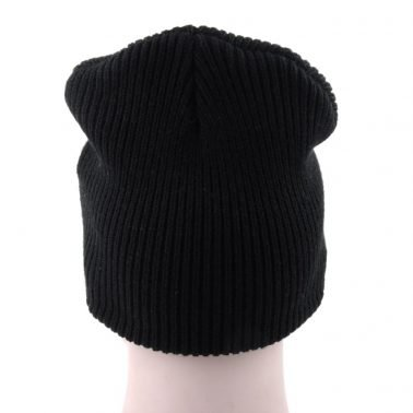 mens black slouchy winter caps beanie