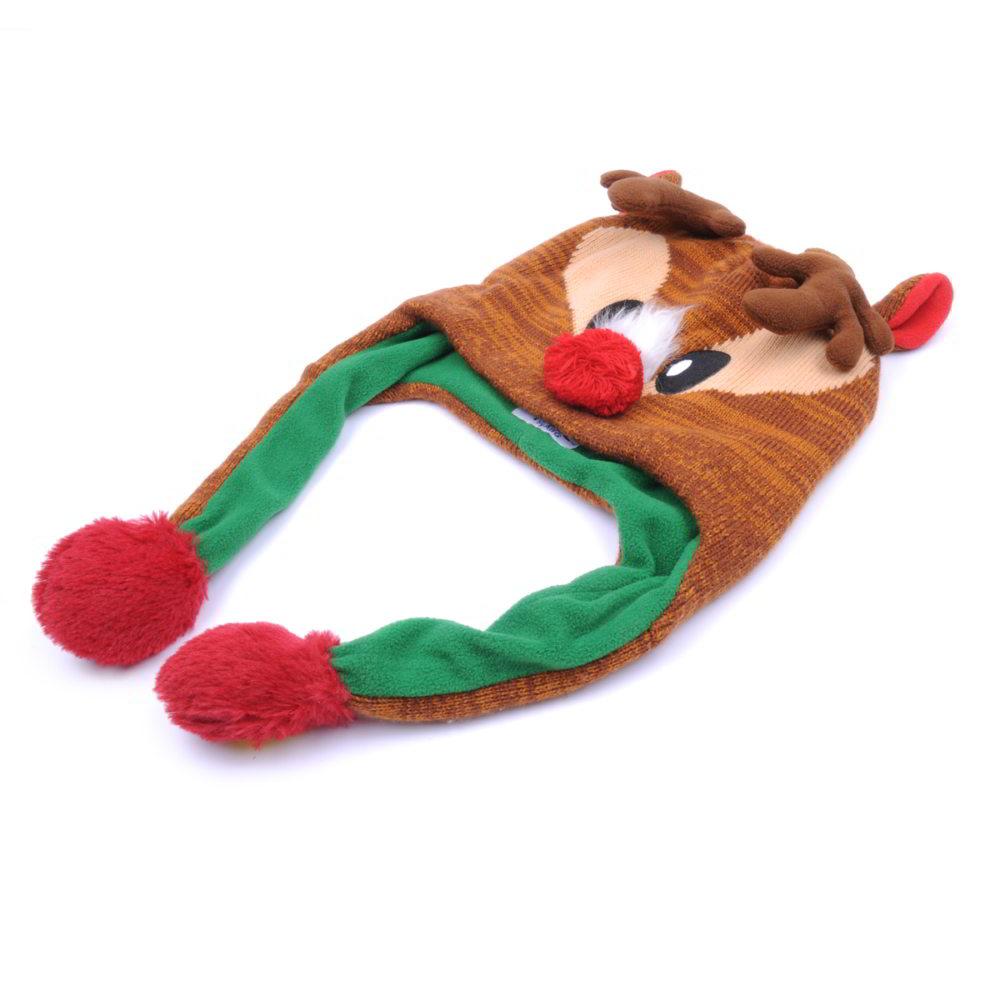 warm winter cartoon beanies baby hats