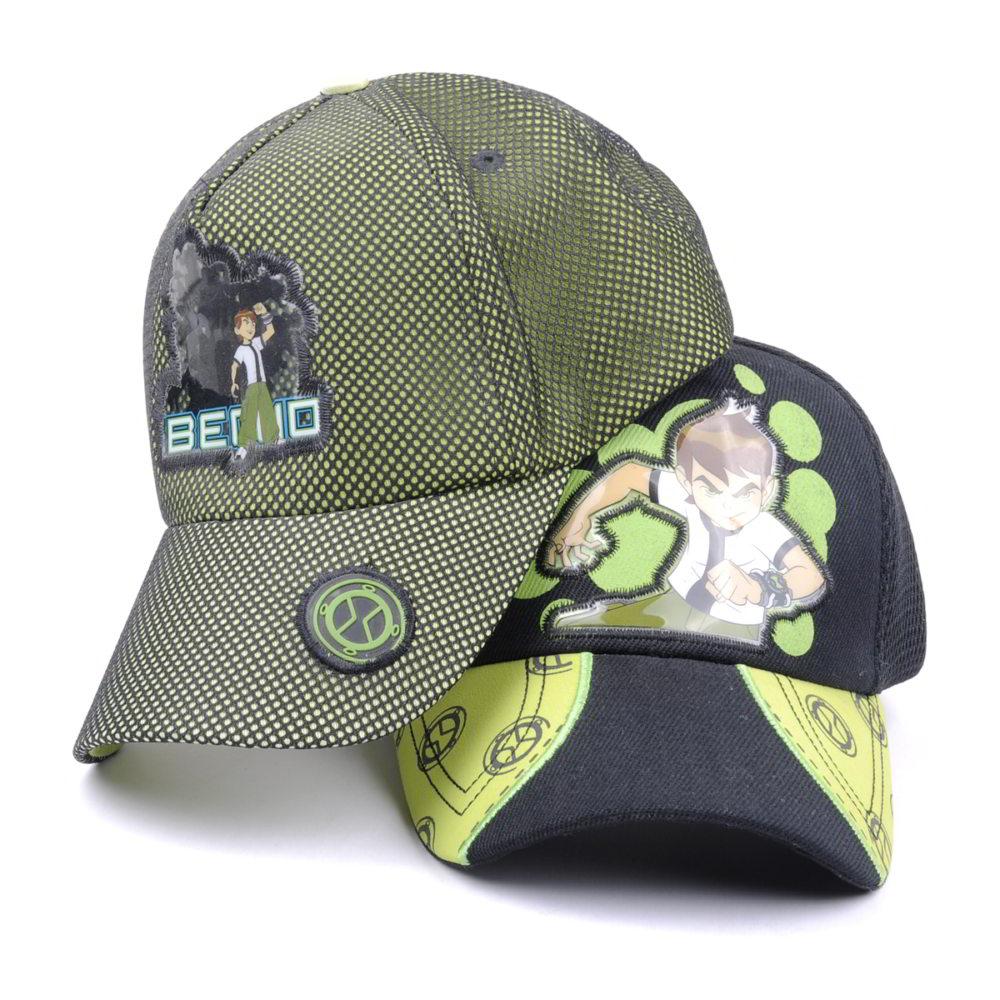 cartoon logo baseball children hats