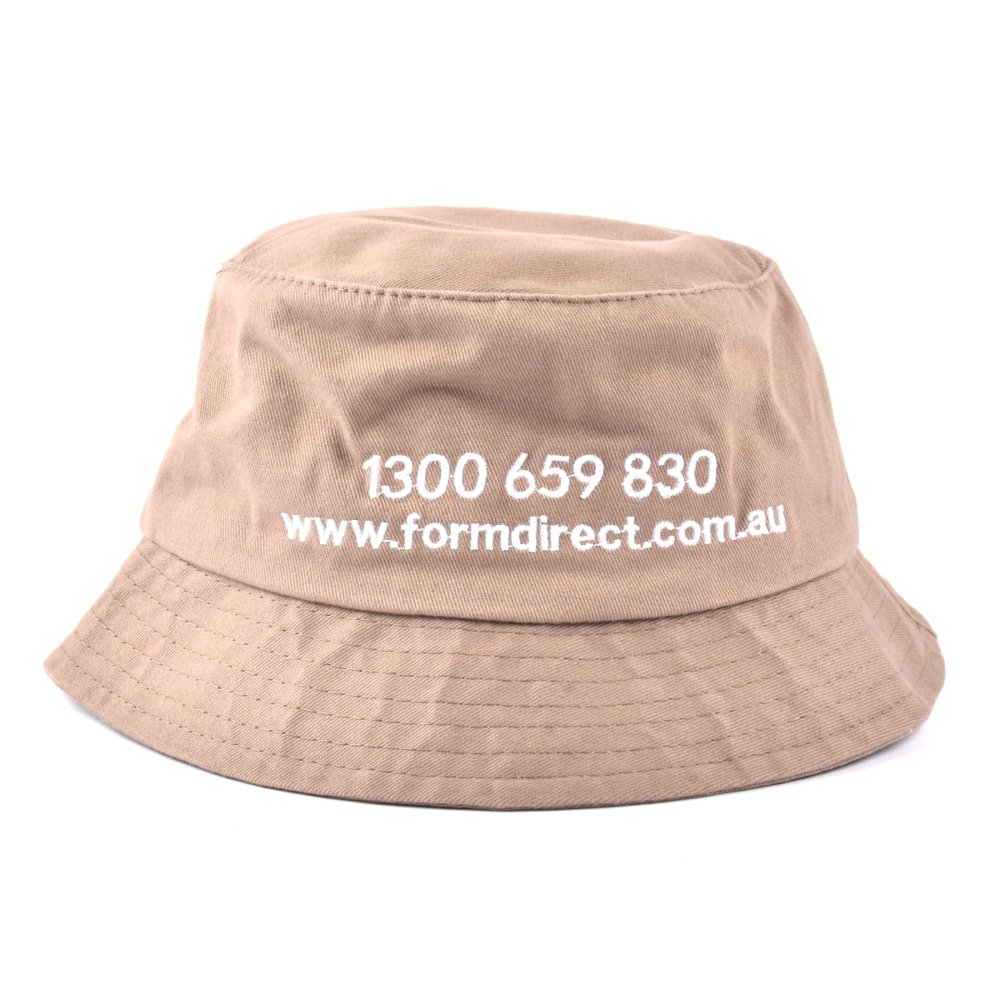 embroidery bucket hats design logo piping bucket hats