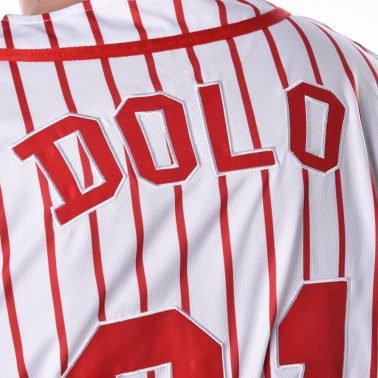 custom mens embroidery stripes baseball uniform t shirts