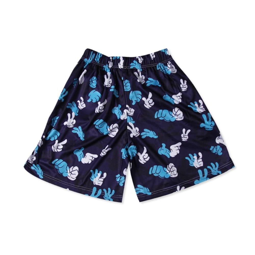 beach shorts 100% polyester quick dry board shorts
