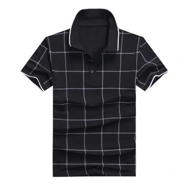 custom mens plain Plaid Shirts design logo