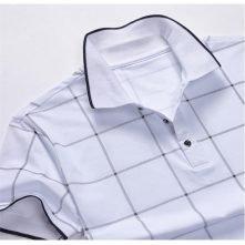 custom mens plain Plaid Shirts design logo