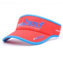 wholesale plain embroidery sports sun cap visor hat