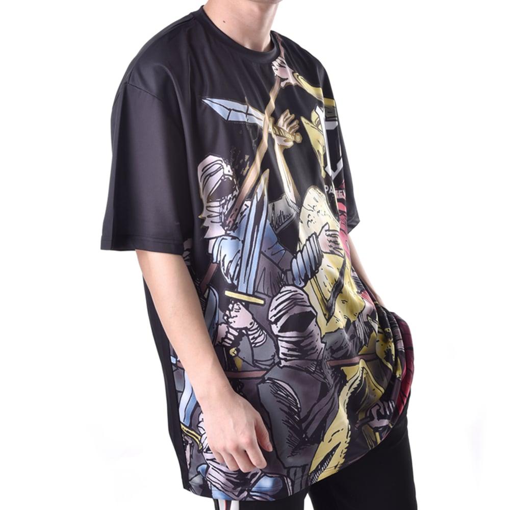 printed hip hop mens t-shirt custom