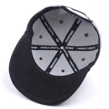 aungcrown custom flat brim rope embroidery snapback caps