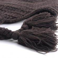 custom warm winter cap earflap beanies