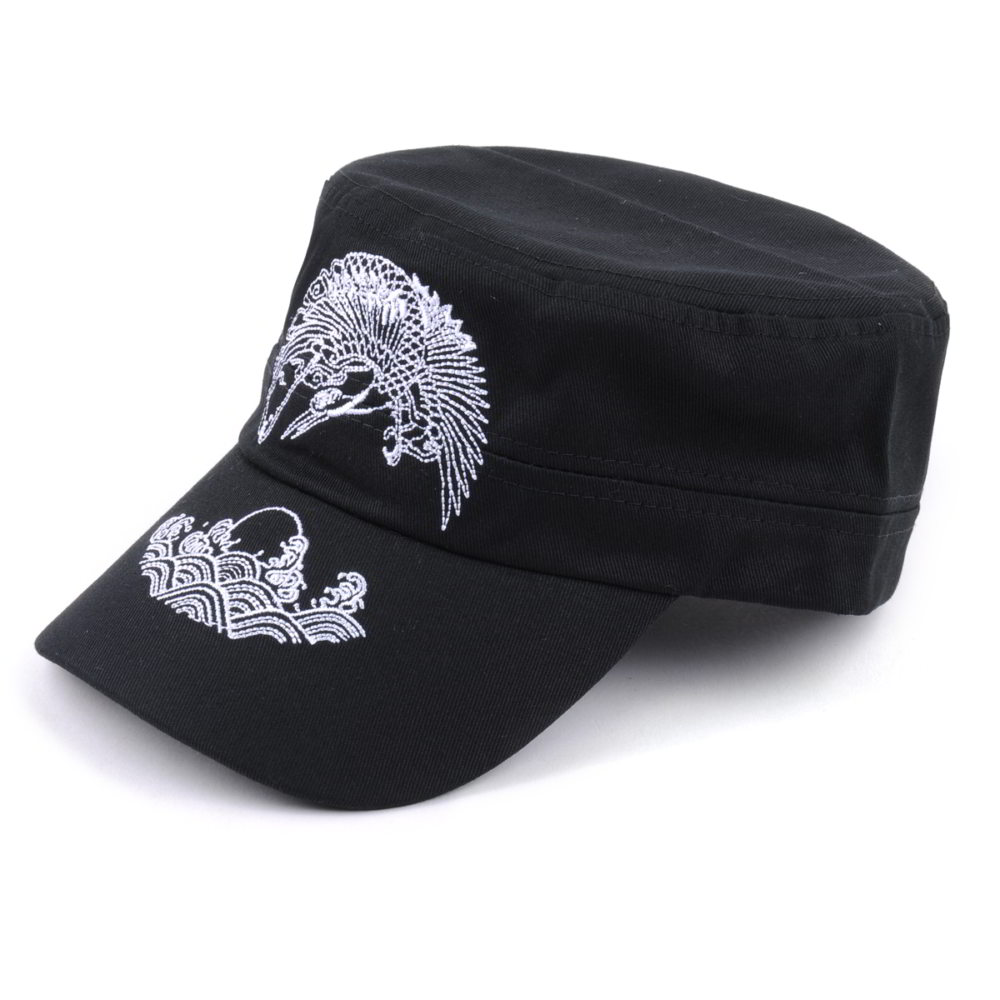 aungcrown plain embroidery logo military hats custom china factory