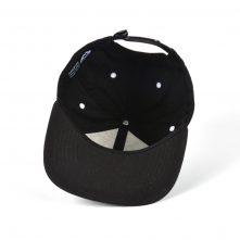 3d embroidery black snapback flat brim caps