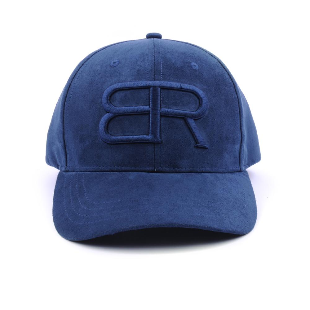 3d embroidery suede sports baseball caps