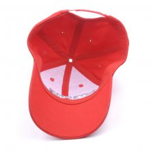 embroidery logo red sports baseball caps