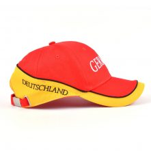 embroidery red baseball caps bicycle hat