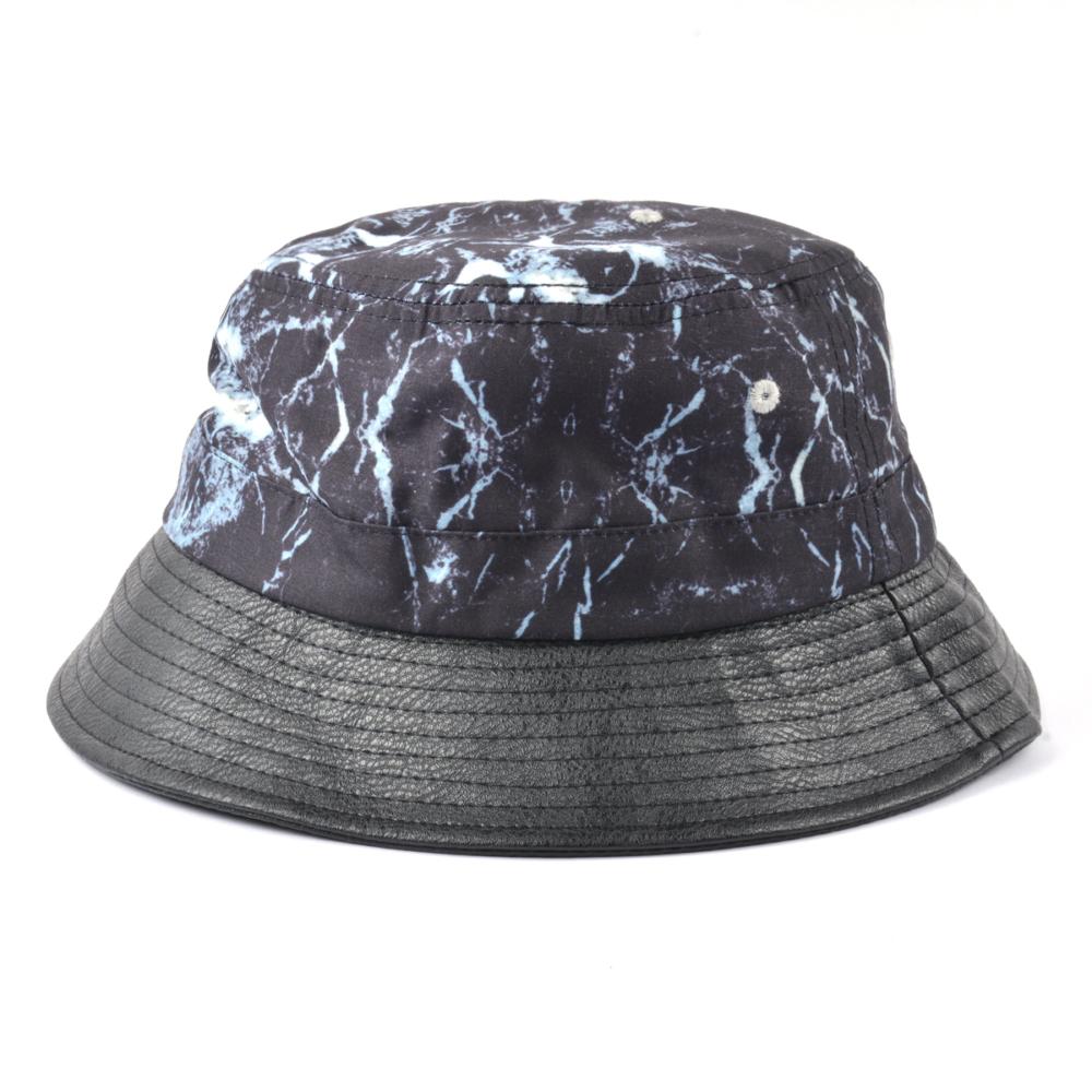 metal plate printing bucket hat