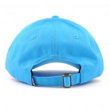 plain embroidery blue baseball cap dad hats