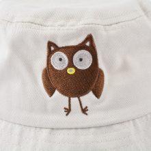 plain embroidery custom white bucket hats
