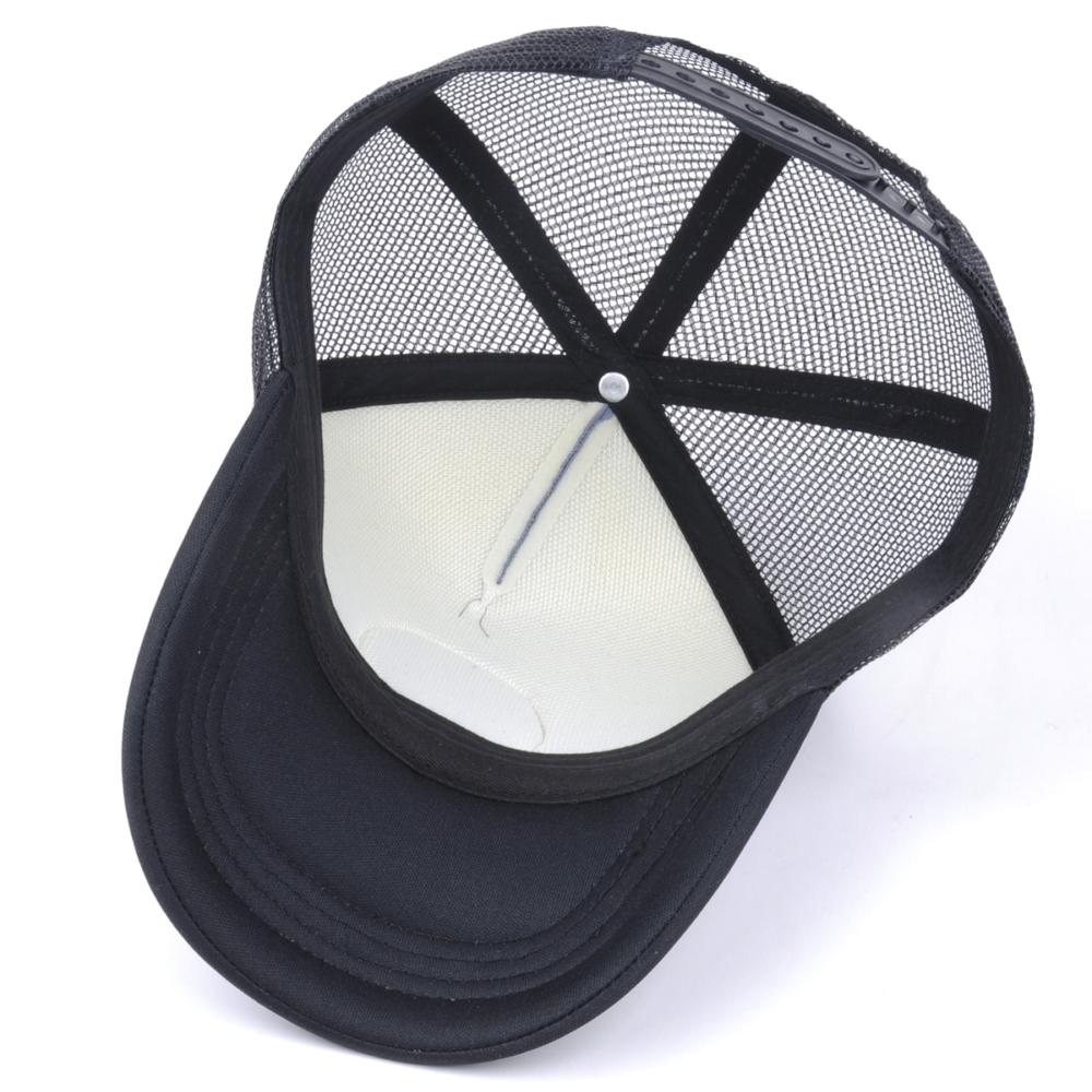 plain 5 panels foam trucker hats
