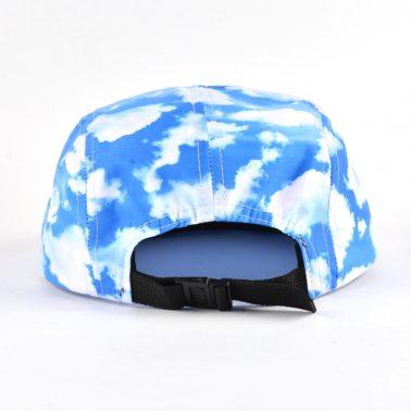 printing fabric 5 panels hats on sale