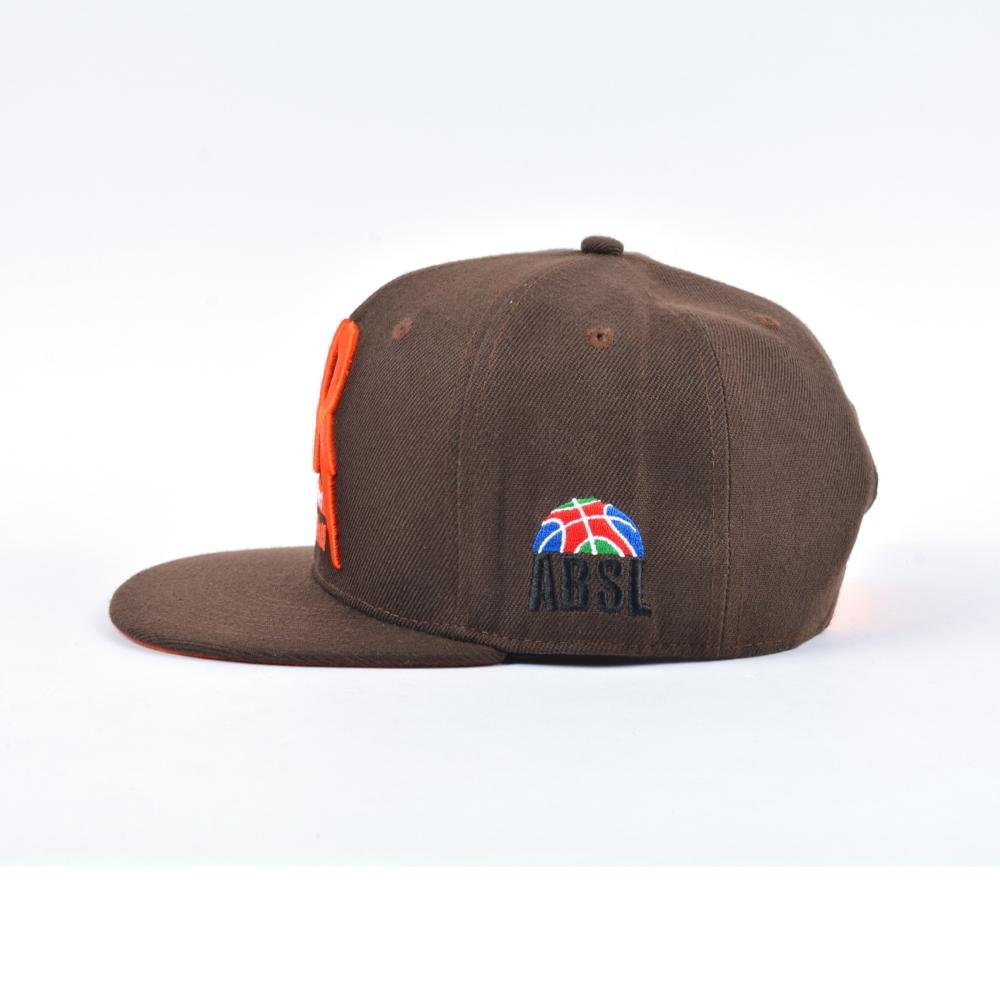 puff embroidery flat brim custom snapback caps
