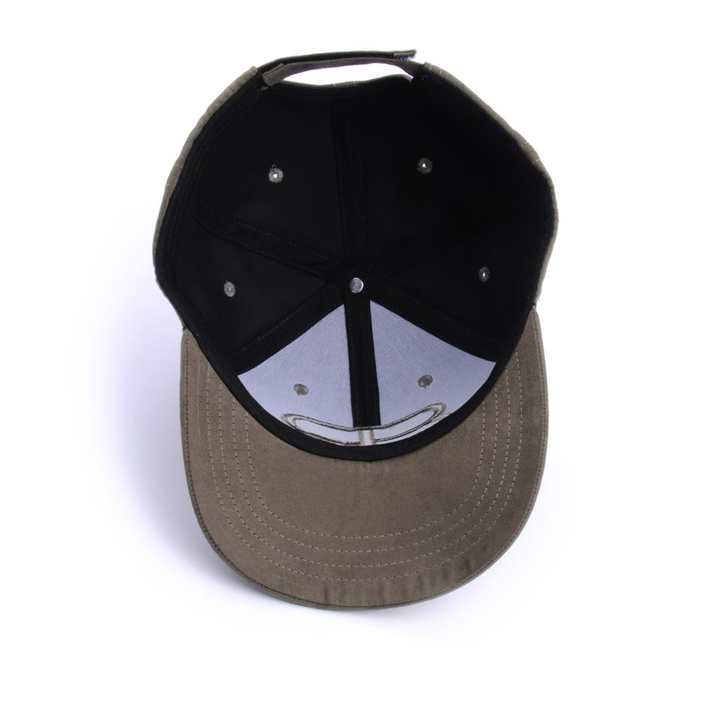 puff embroidery baseball caps suede sports hats