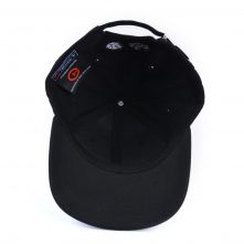 3d embroidery sports black baseball caps