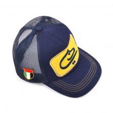 5 panels design logo baseball trucker caps mesh hats