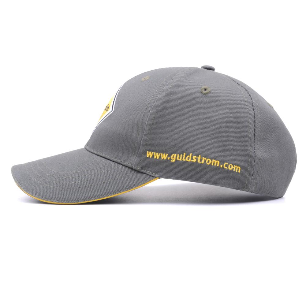 design embroidery cotton baseball caps custom