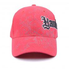 design embroidery logo cotton baseball caps custom