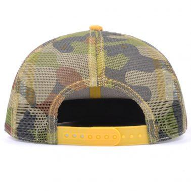patch logo camo snapback trucker caps mesh hats