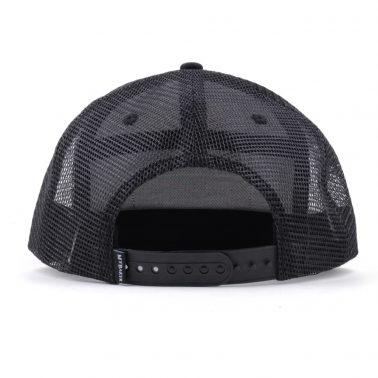 piping black snapback trucker caps