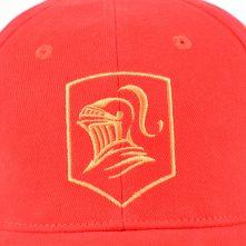 plain embroidery red baseball caps custom
