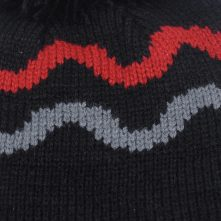 plain jacquard winter caps knitting beanies custom