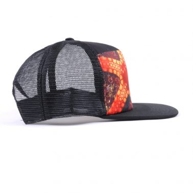 printing logo 5 panels trucker caps mesh hats