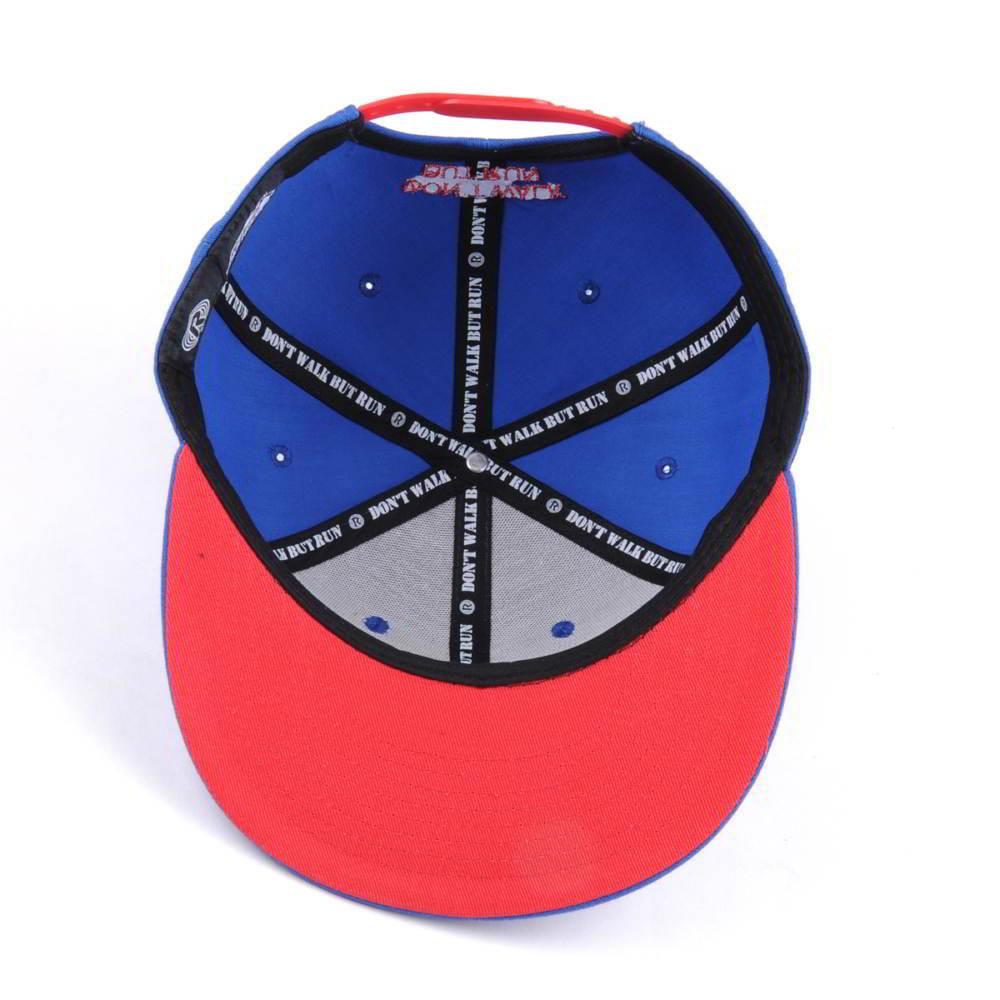 3d embroidery logo acrylic snapback caps custom