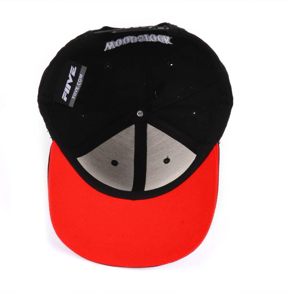 3d embroidery sports black baseball caps custom