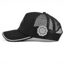 5 panels embroidery baseball caps trucker mesh hats