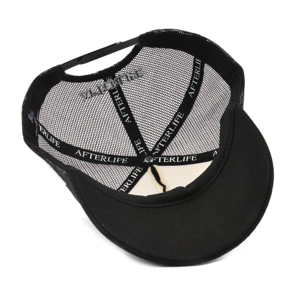 5 panels embroidery baseball caps trucker mesh hats