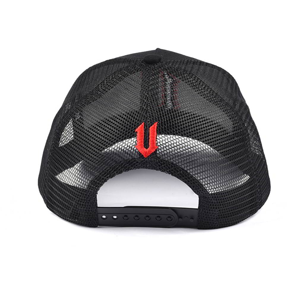 5 panels baseball 3d embroidery trucker caps