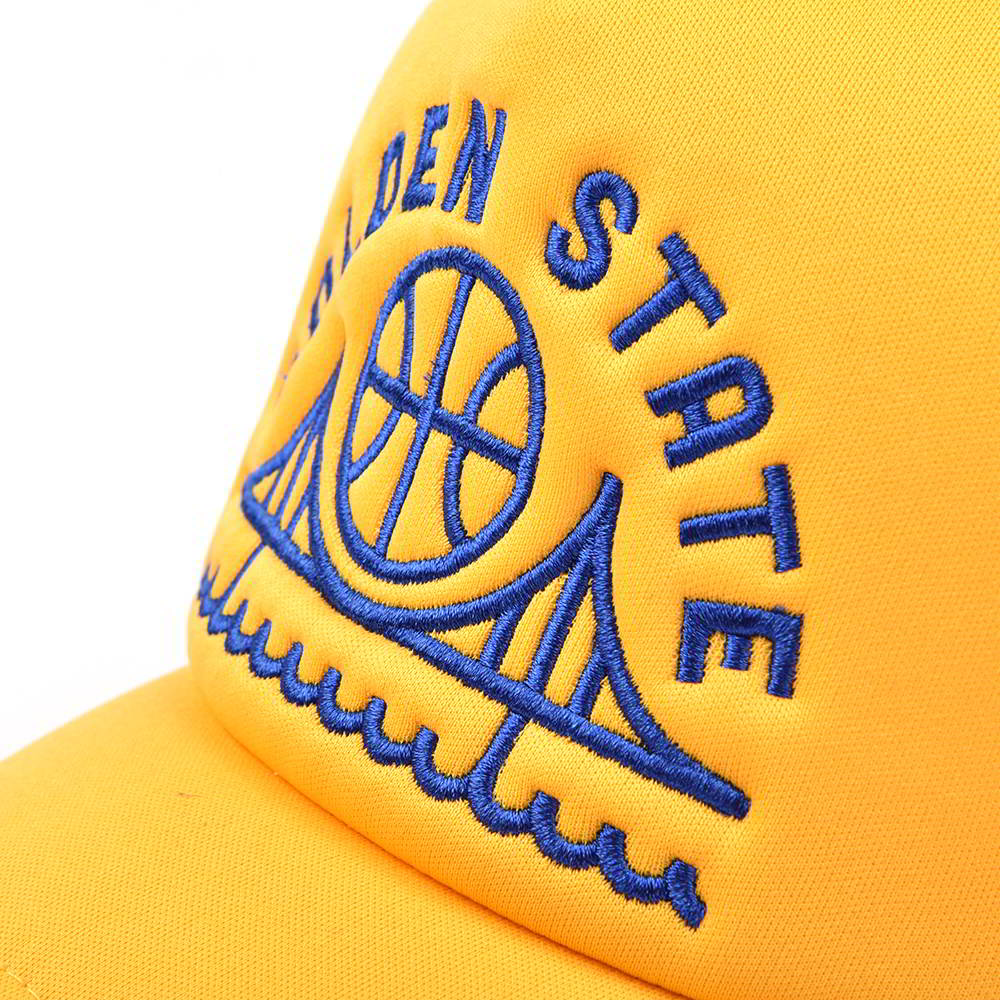 5 panels foam embroidery baseball trucker caps
