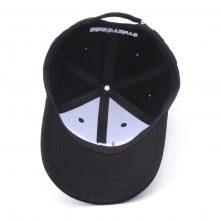 embroidery letters logo black baseball caps sports hats