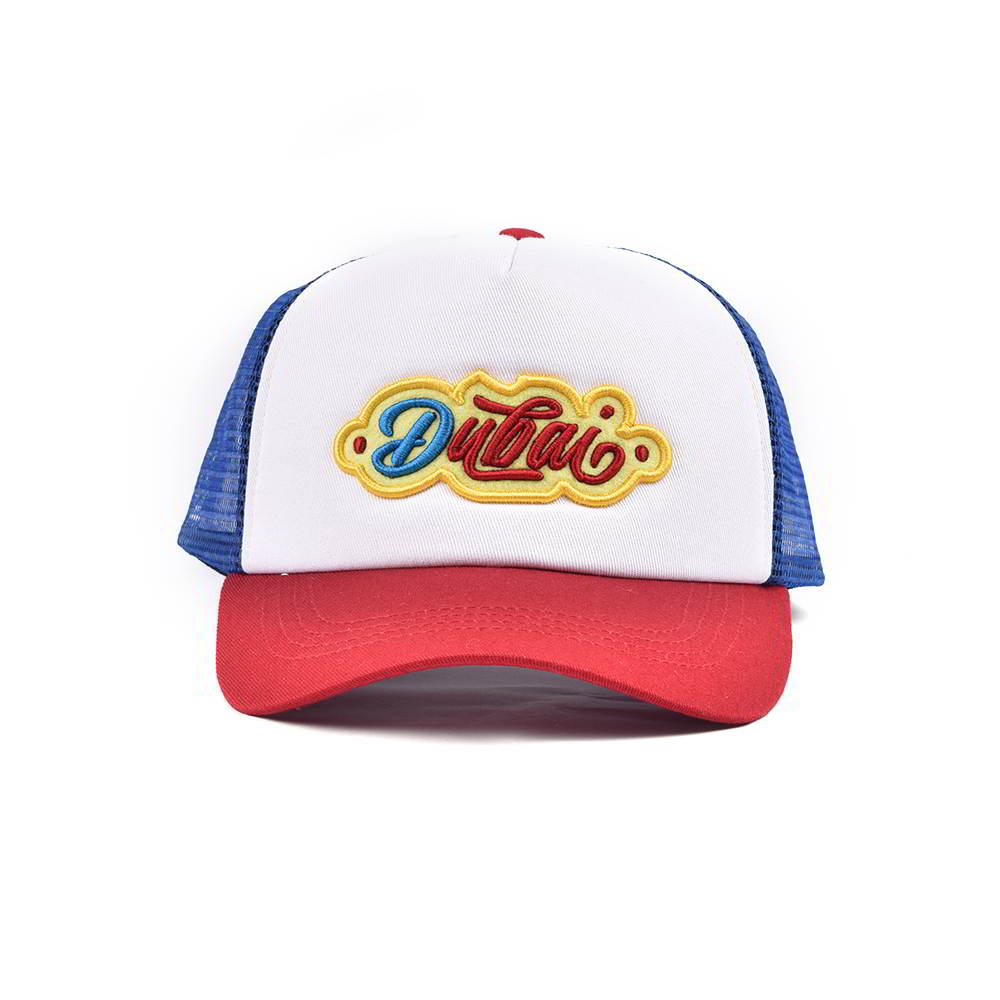 embroidery logo sports baseball trucker hats