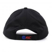 flat embroidery sports black caps design logo